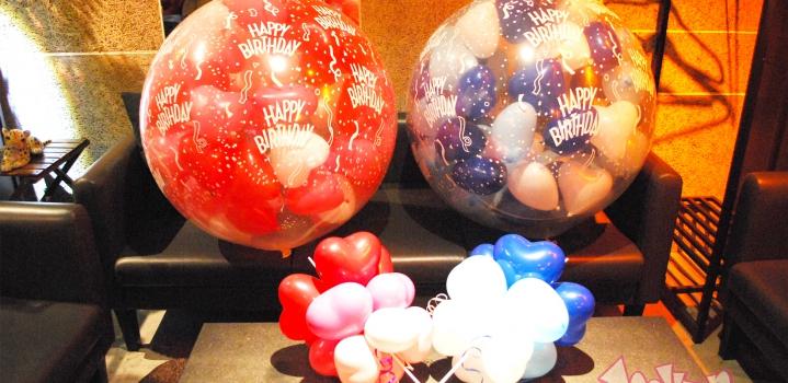 スパークバルーンでお誕生日を華やかに演出!